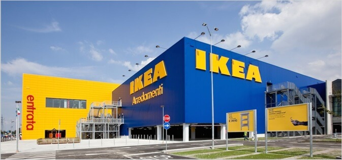 Ikea example of business name