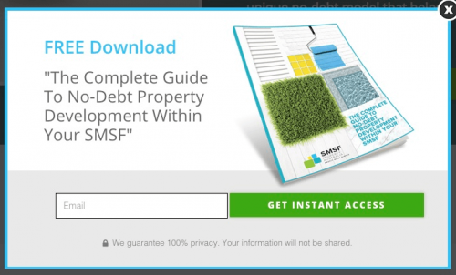 SMSF Property Capital - example of generating qualified leads