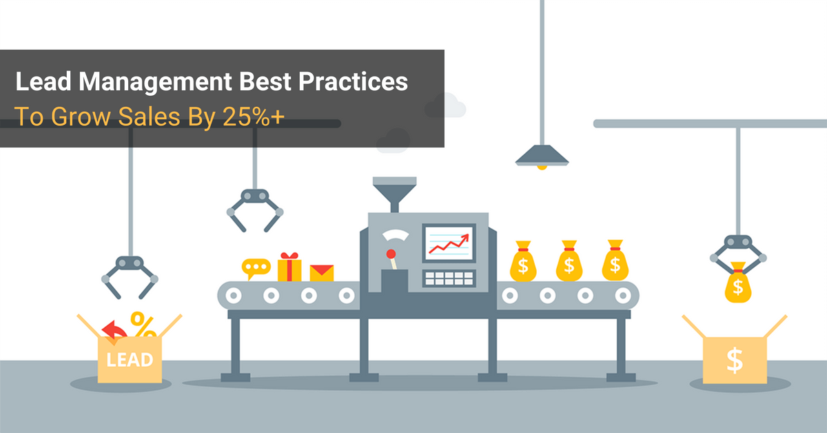 Lead Management Best Practices Cover