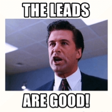The Leads Are Good - Alec Baldwin