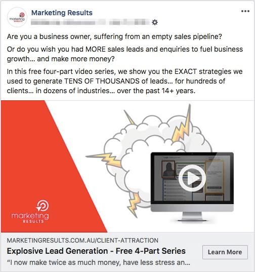 Marketing Results - best facebook ads